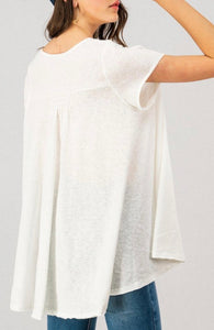 Aurora top... oversized comfort