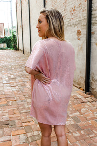 "Polly pink dress ""sparkle"""