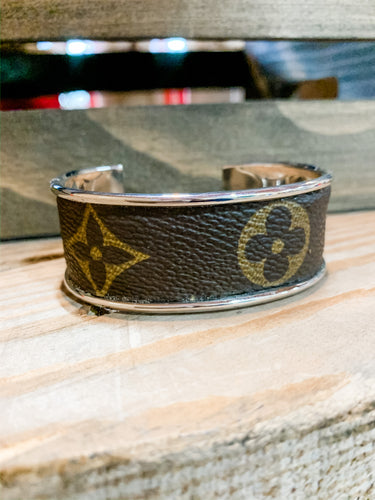 Repurposed Louis Vuitton Bracelet