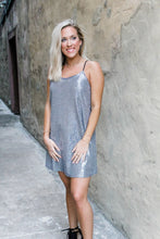 Load image into Gallery viewer, Silver makes my heart sparkle dress