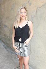 Load image into Gallery viewer, Get going skirt (charcoal/ivory)