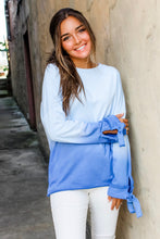 Load image into Gallery viewer, Callie Blue Ombré top