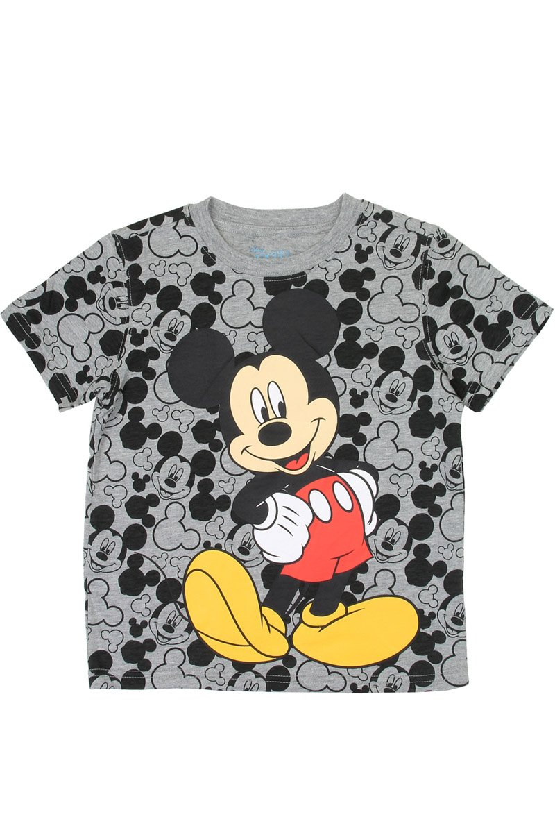 Boys mickey mouse 4-7 t-shirt