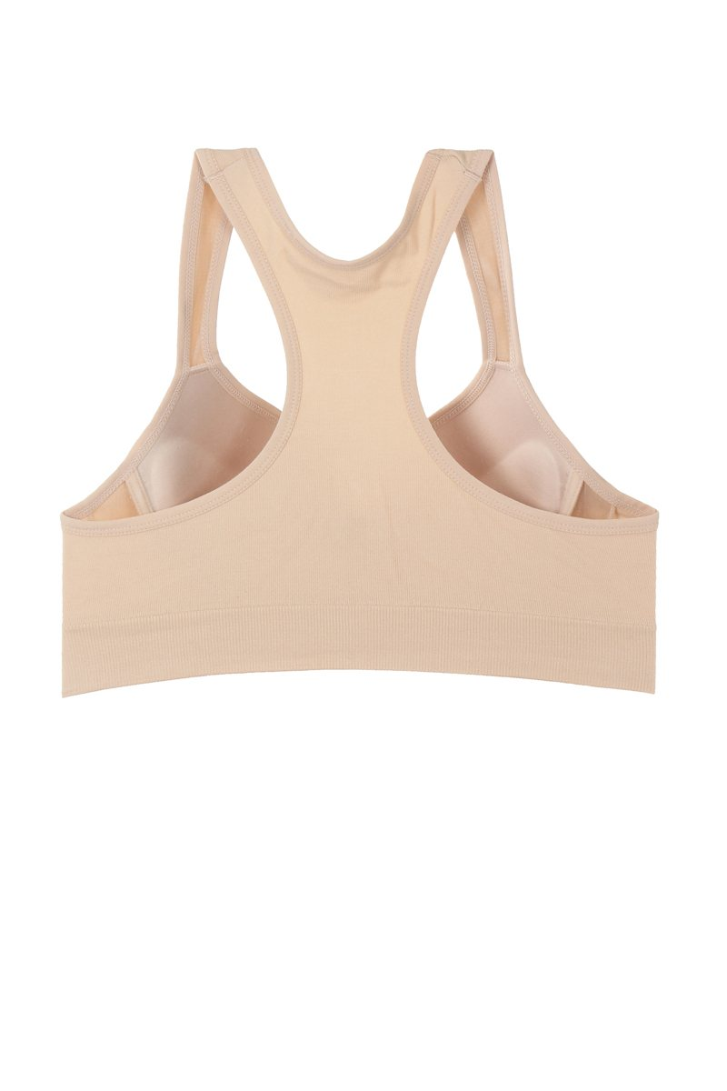 Plus Ladies racerback sports bra