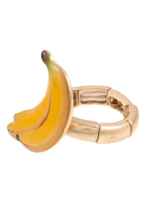Banana stretch ring