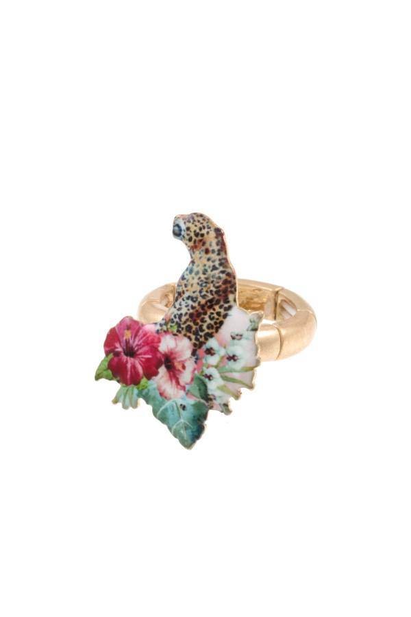 Wild animal stretch ring