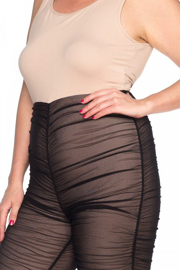 Ladies fashion plus size lace sheer jumpsuit