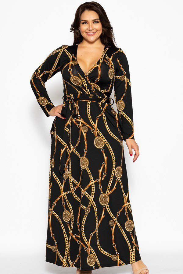 Breathable Autumn Maxi Dress