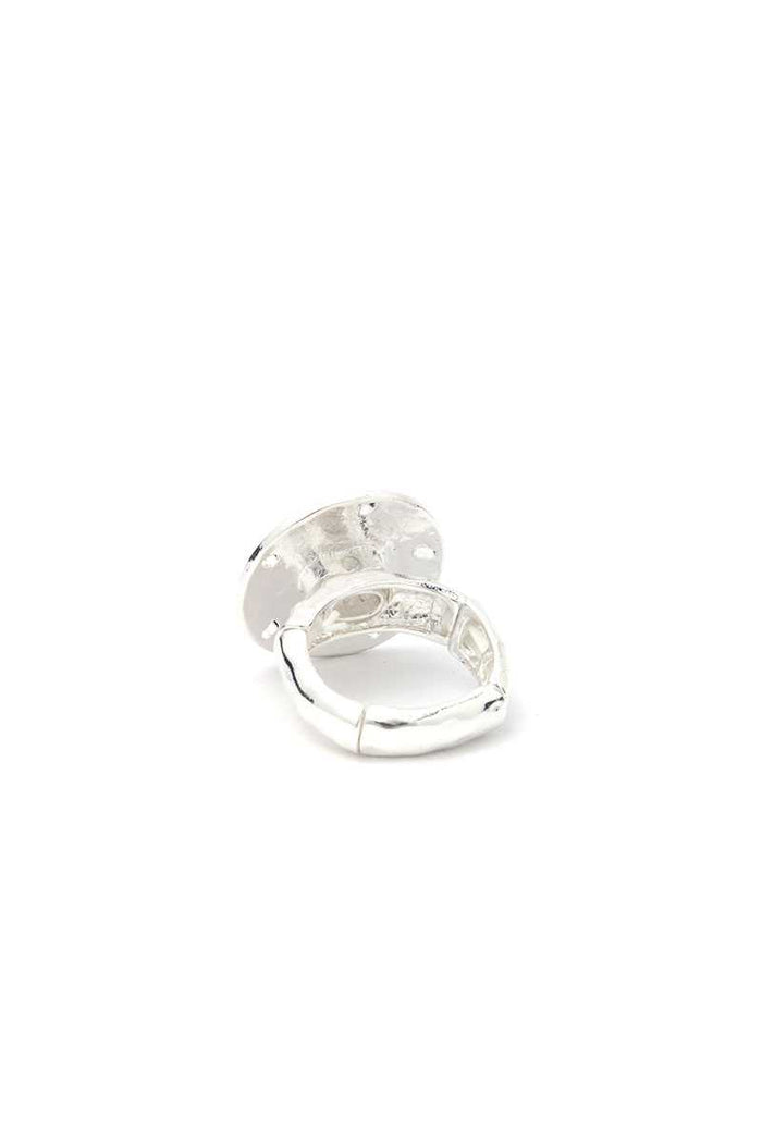 Sand Dollar Stretch Ring
