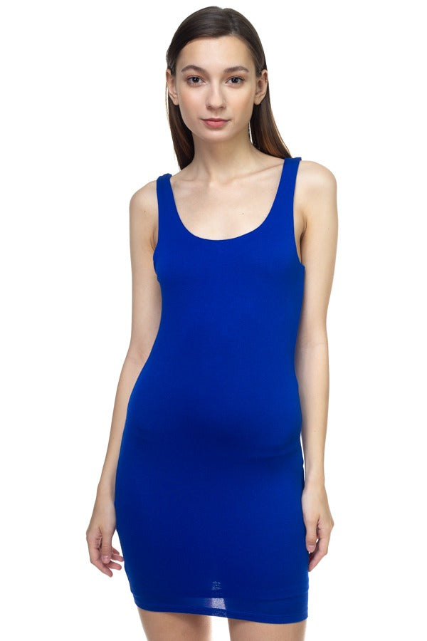 Sleeveless Basic Dress