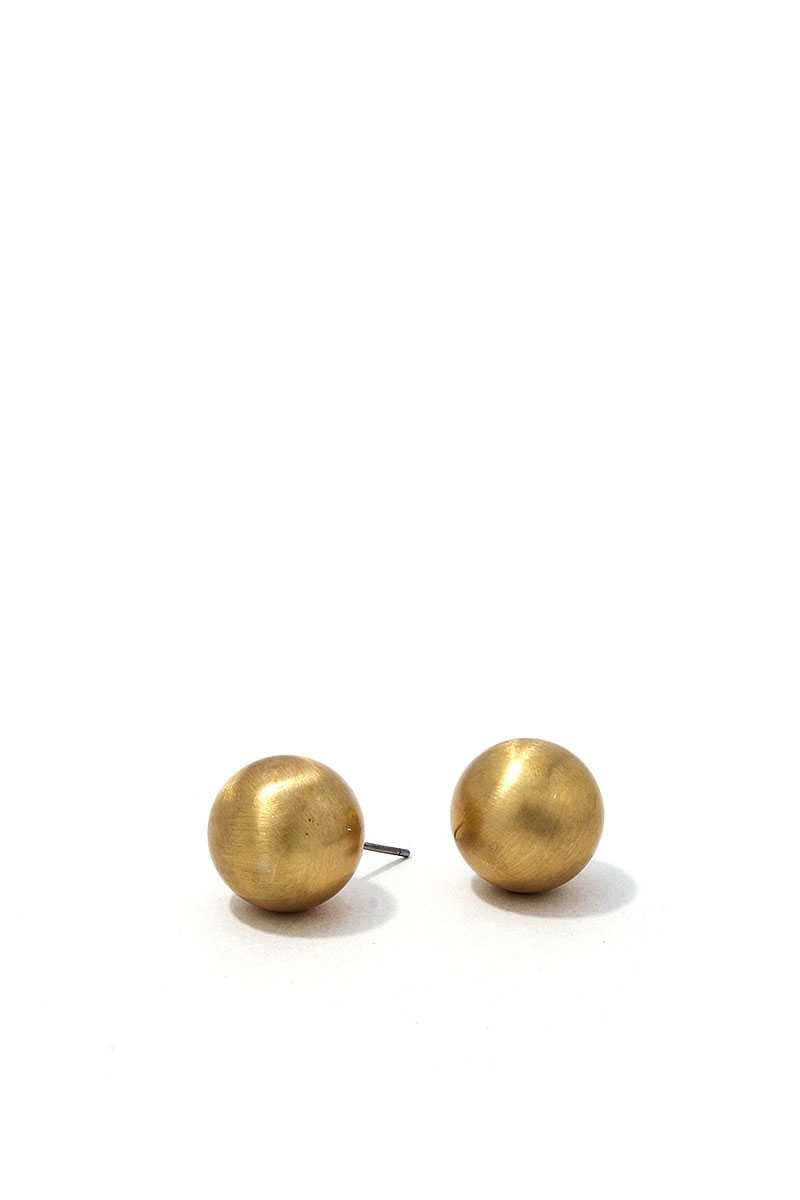 Fashion Modern Cute Ball Stud Earring