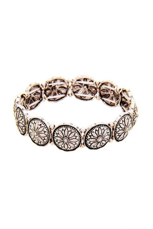 Chic Flower Stretchable Bracelet