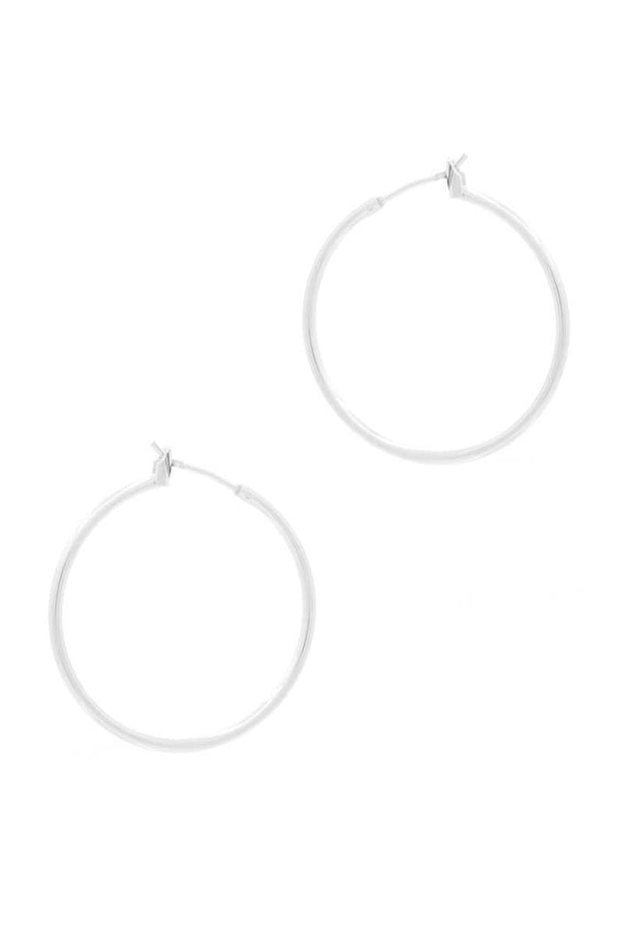Basic Metal Hoop Earring