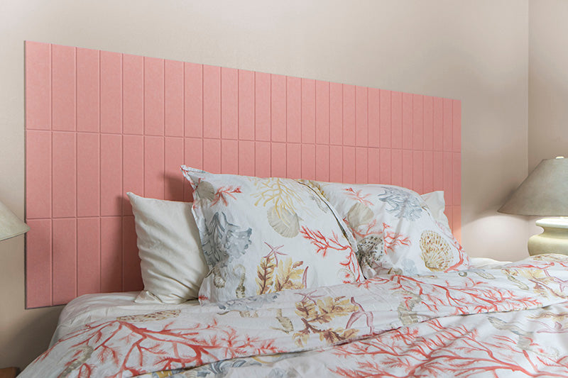 Coral Parallel Headboard King Felt Right Design