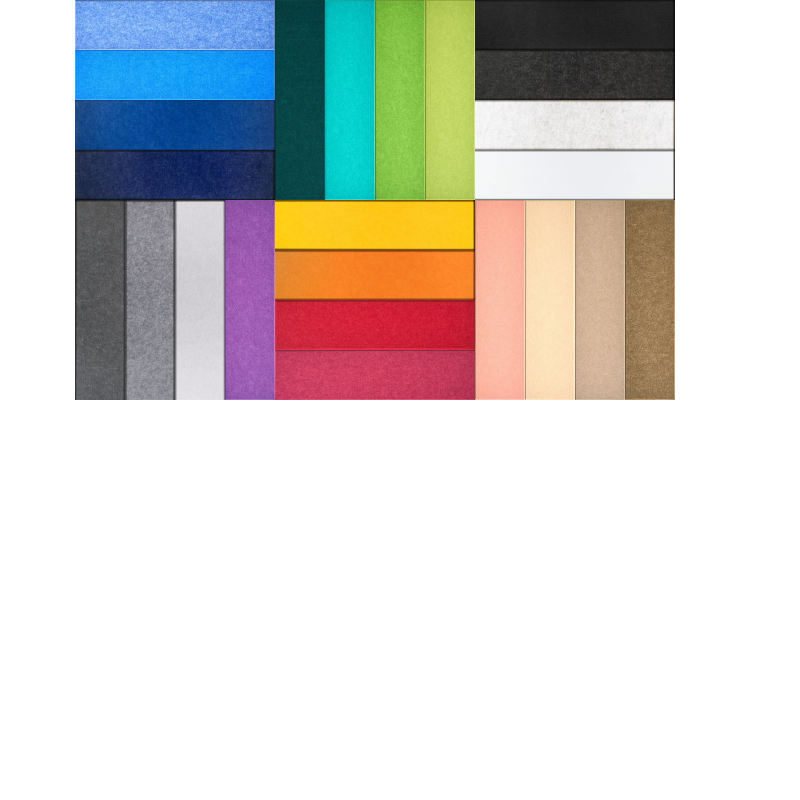 Large Rainbow Pinboard Design