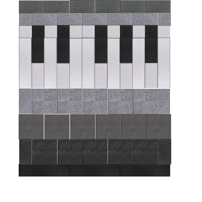 Piano Keys Design