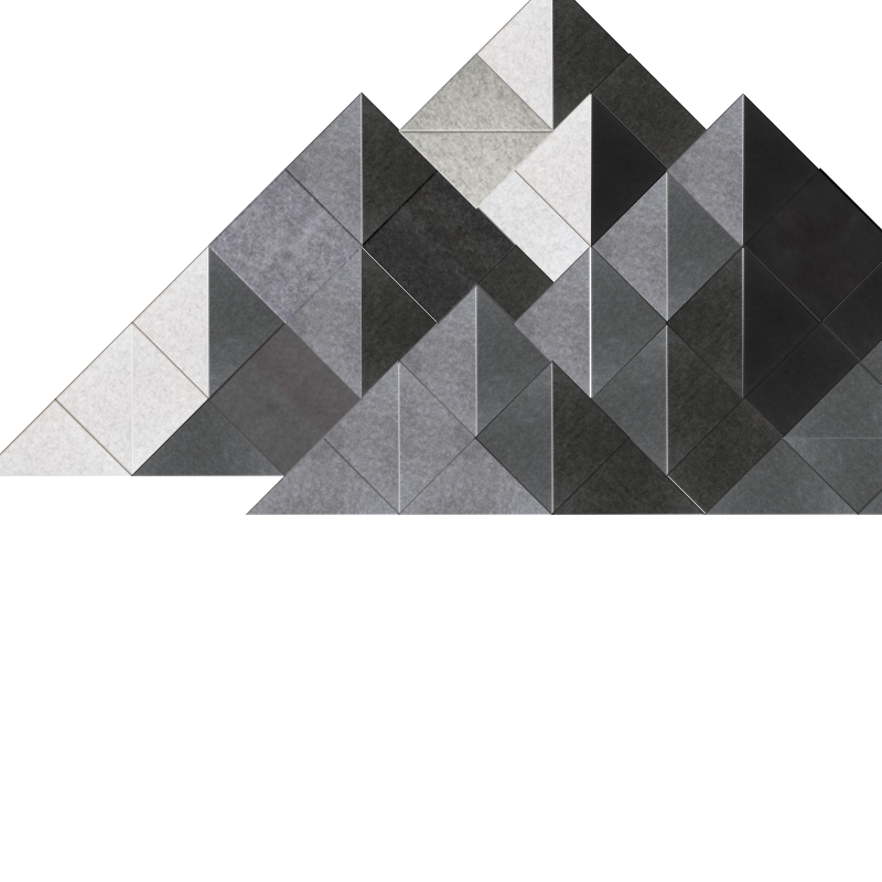 Large Shaded Mountain Design