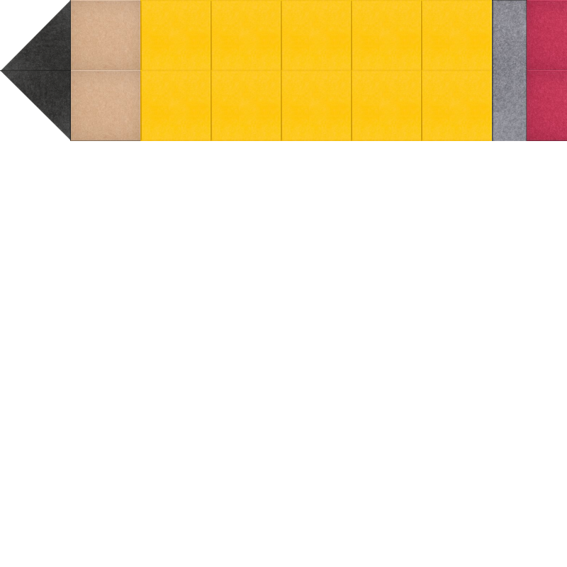 Pencil Planner Bulletin Board Design