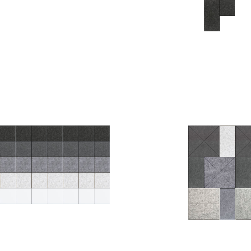 New Grey-dient Triptych Design