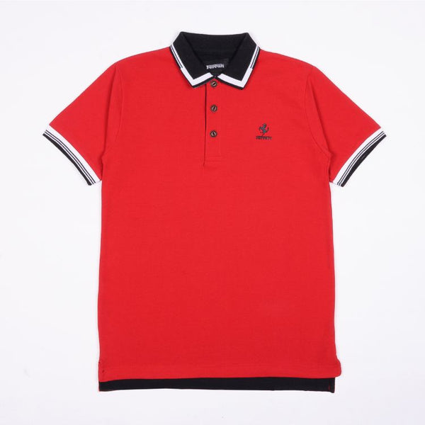 Frrari Polo Shirt Red