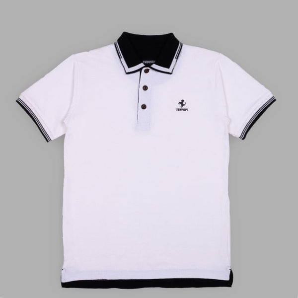 Frrari Polo Shirt White