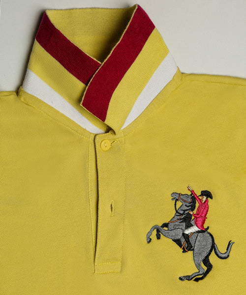 Giordano Yellow Polo Shirt
