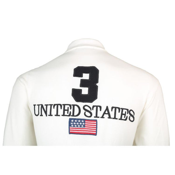 RL Long Sleeves Polo Shirt White Usa