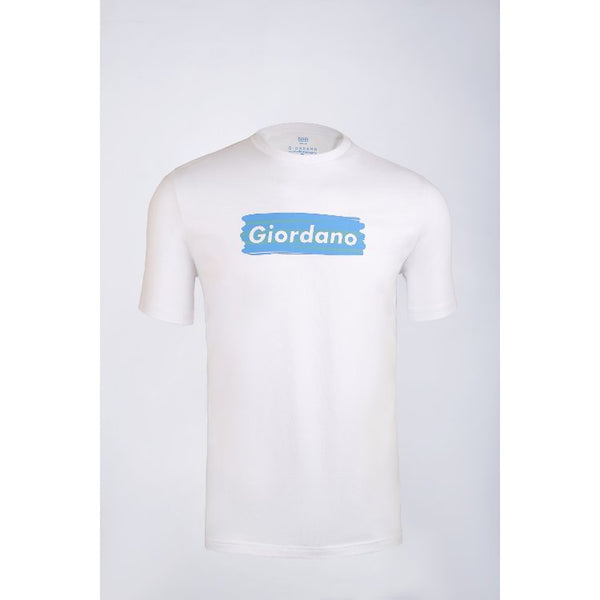Gdno White Crew Neck T-Shirt