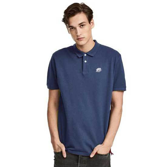 BR Navy Mens Polo Shirt