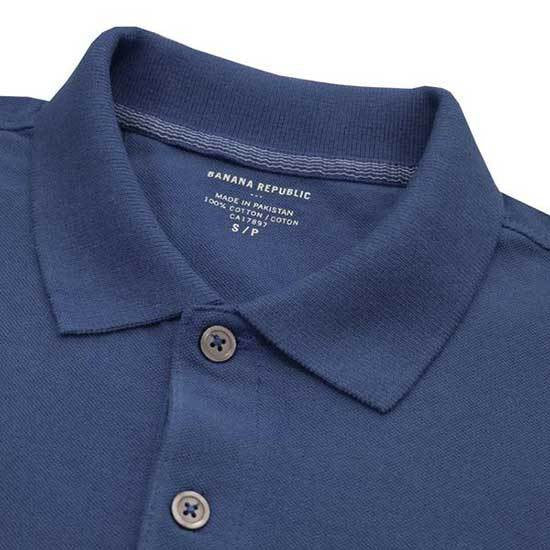 Banana Republic Navy Mens Polo Shirts