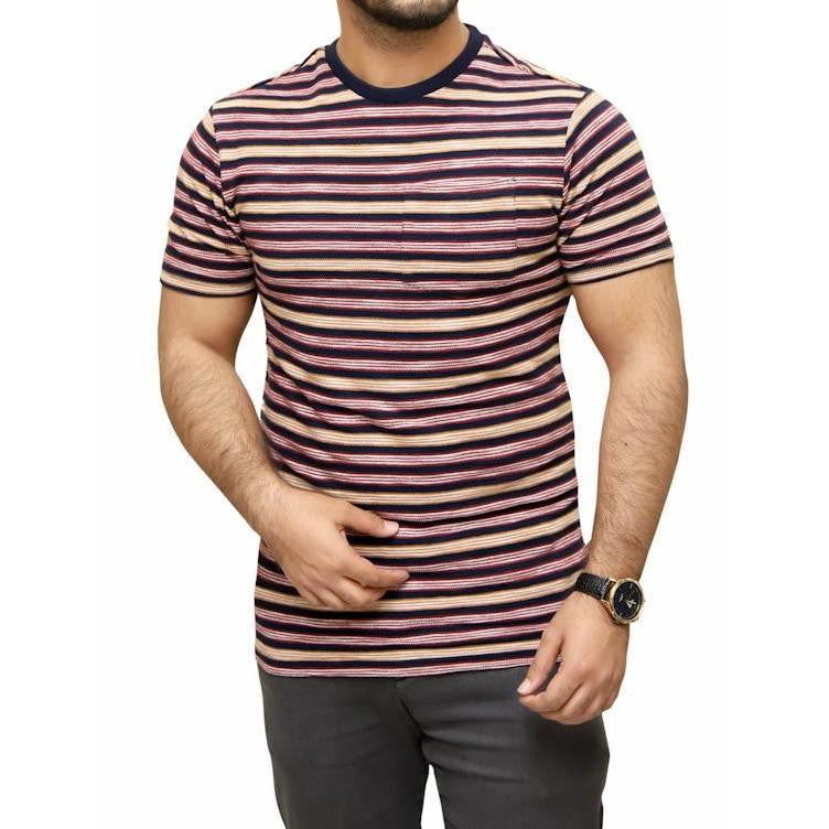 FF Crew Neck Stripe T-Shirt