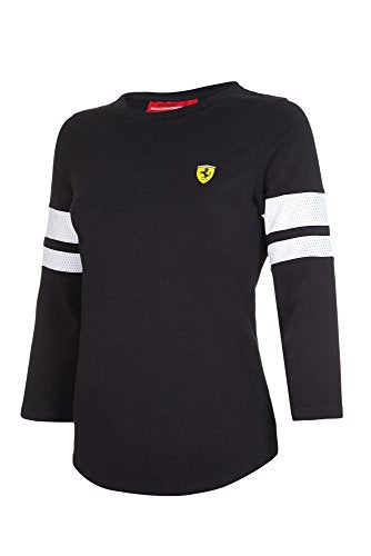 Frrari Three Quarter T-Shirt Black