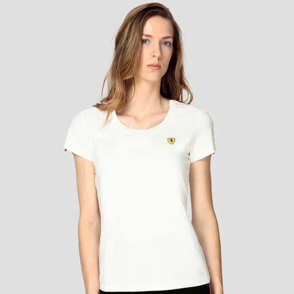 Ferrari White Women T-shirt