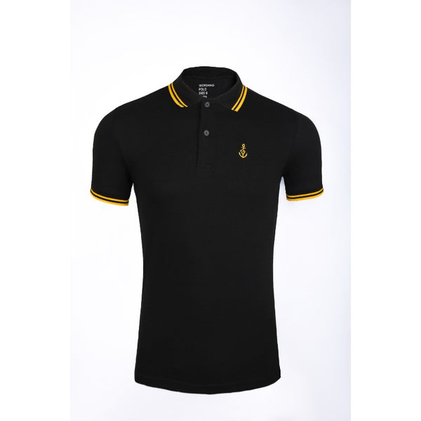 Giordano Black Polo Shirt