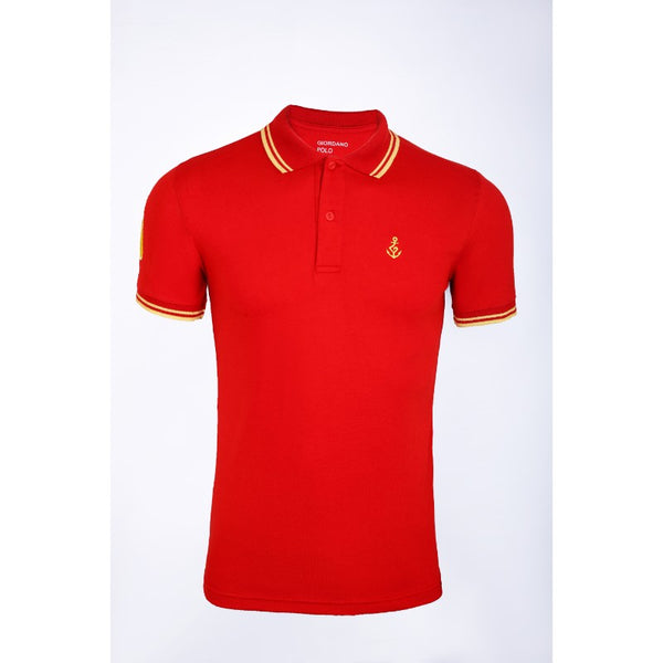 Giordano Red Polo Shirt