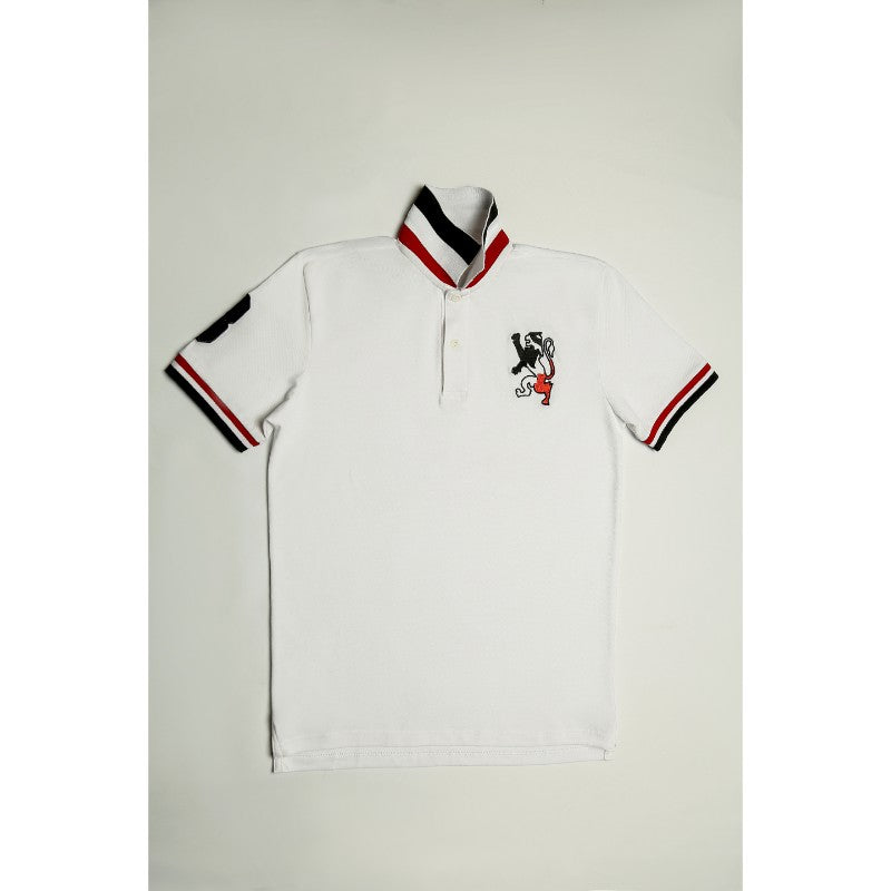 Giordano White Polo Shirt