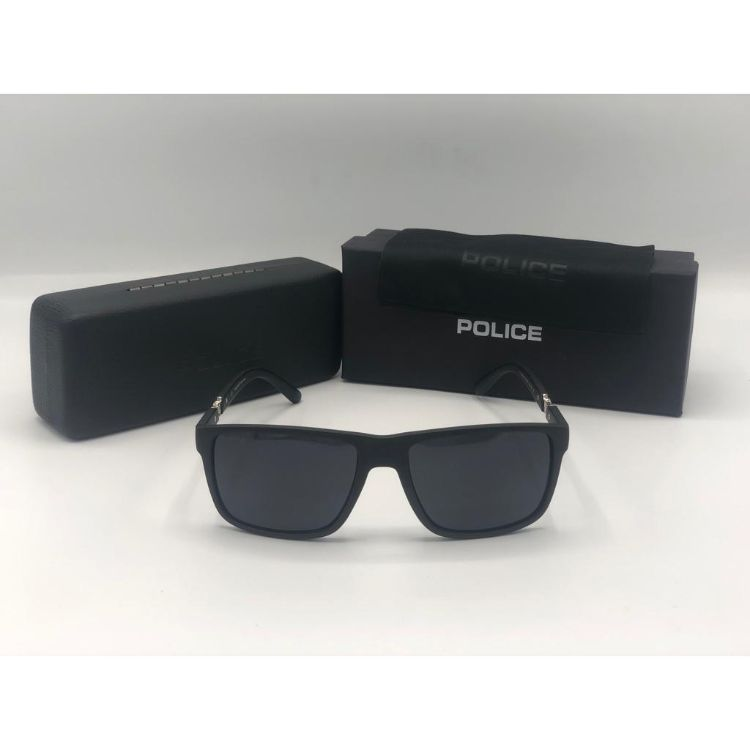 POLICE MATT FRAME BLACK SUNGLASSES