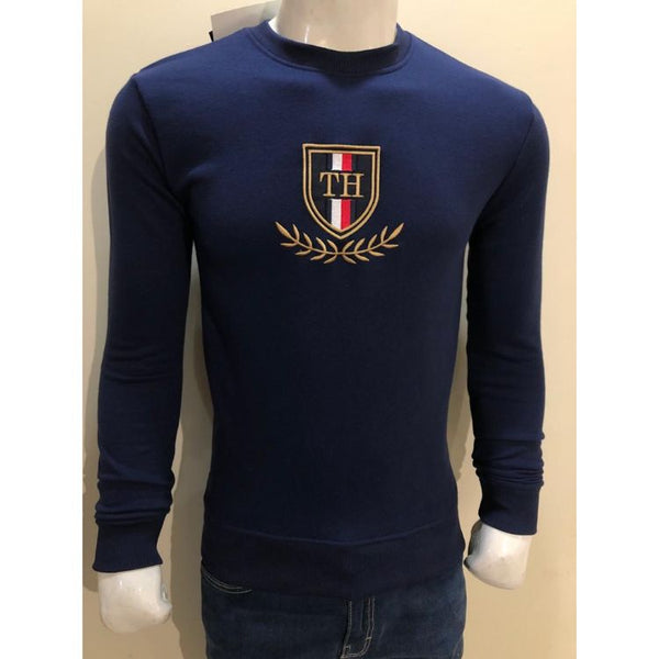 TH Embroidered Sweatshirt Navy