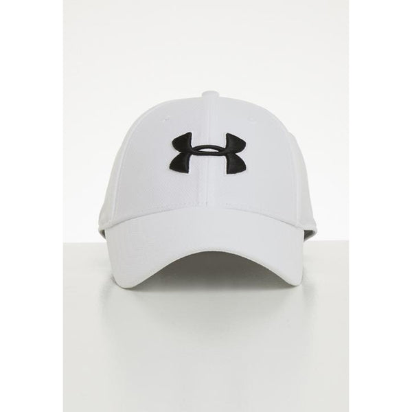 UA Mens Cap White Gym Running Training Sports Workout