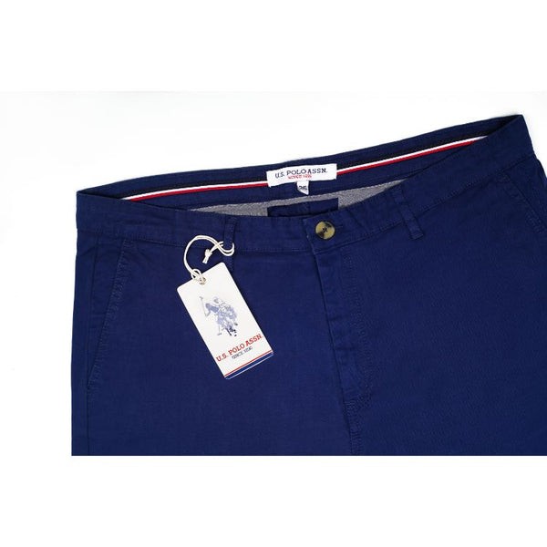 Us Polo Assn Navy Blue Chino