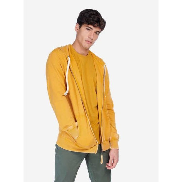 A.L.C.O.T.T Basic Hooded Zipper Mustard