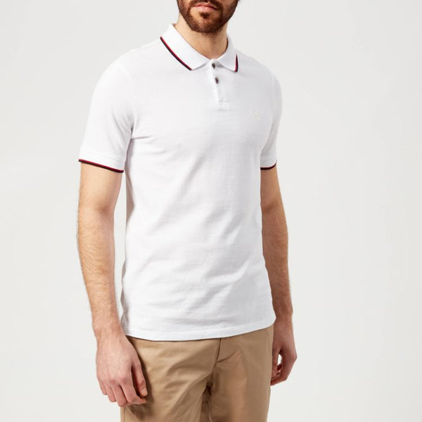 AX Tipping Polo Shirt White