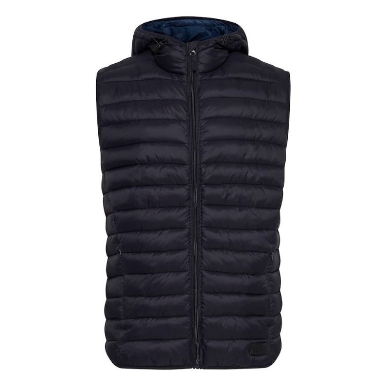 Blnd Puffer Sleeveless Jacket Black