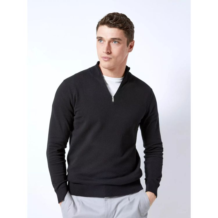 B.U.R.T.O.N Twist Half Zip Jumper Black