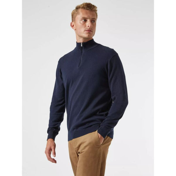B.U.R.T.O.N Twist Half Zip Jumper Navy