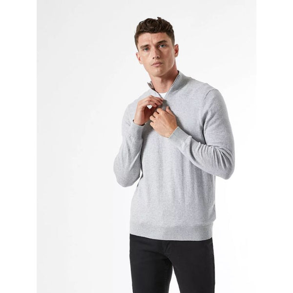 B.U.R.T.O.N Twist Half Zip Jumper Grey