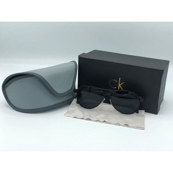 CELVIN KLN METAL AVIATOR SUNGLASSES