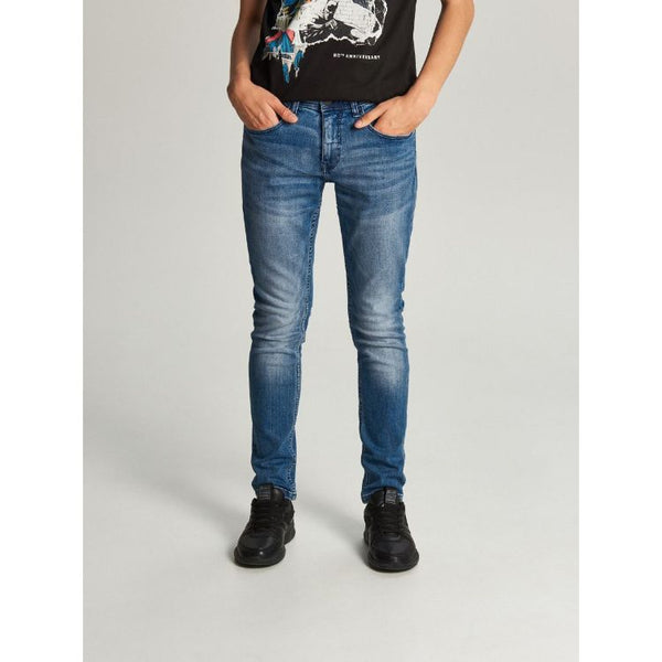 Crpp Denim Slim Fit Jeans - Blue