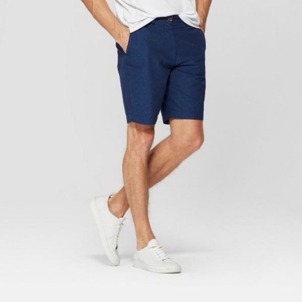 Den co navy blue shorts