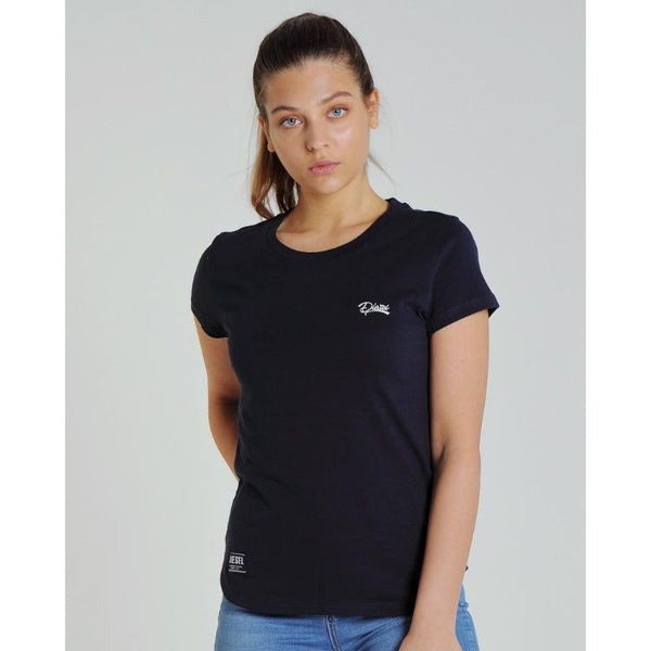Diesl Basic Women Tee Black